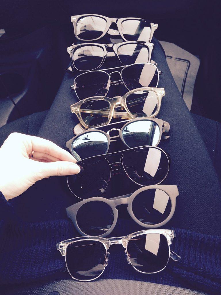 collection, glasses, sun glasses