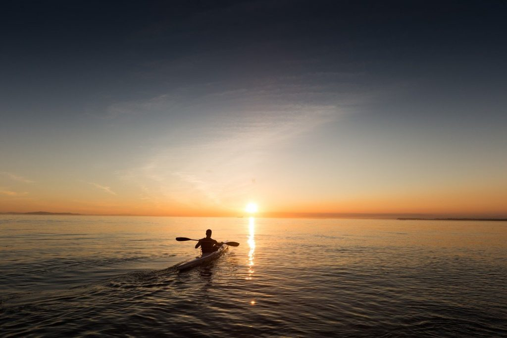 paddle, kayak, canoe